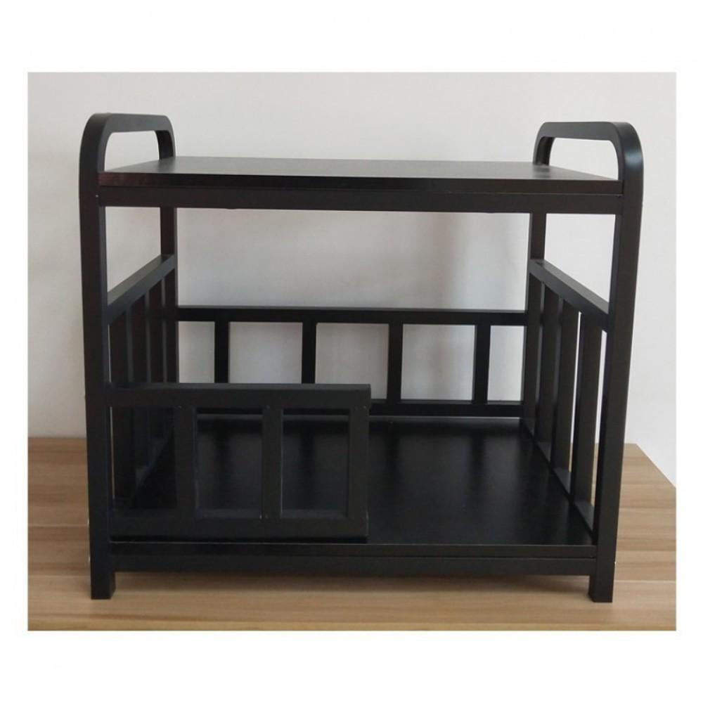 강아지산소방 혼자두기 강아지포토존 고양이호텔, 블랙 덧댐 4면 침대 (POP 5243825493)