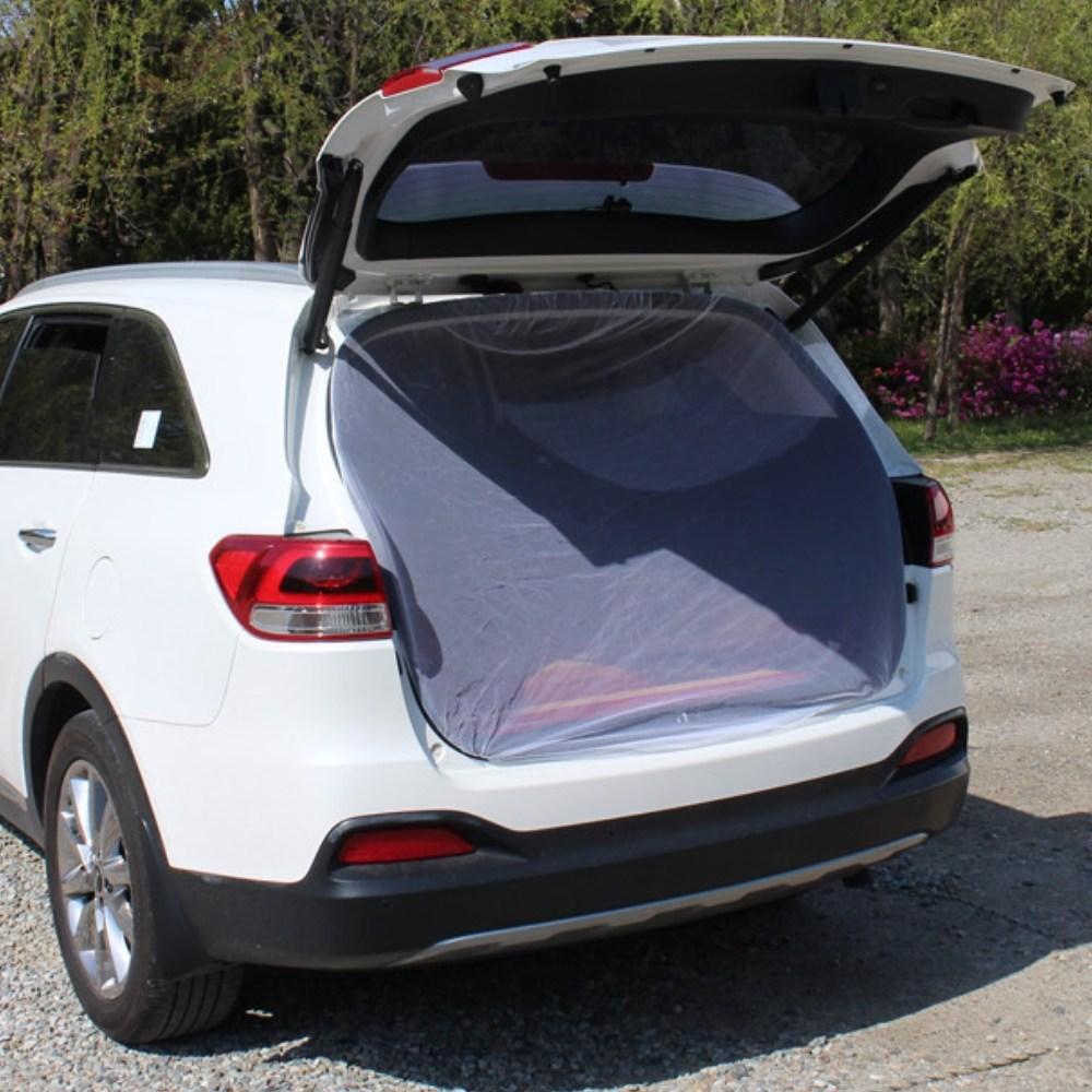차박 SUV 트렁크 차박용 차량용 모기장 방충망 캠핑, 1개, 단일