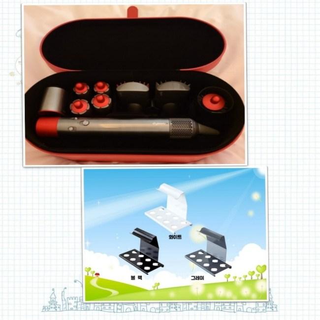 다이슨 에어랩 스타일러 컴플리트(레드)+거치대 최신형 고데기, 다이슨 에어랩 스타일러 컴플리트