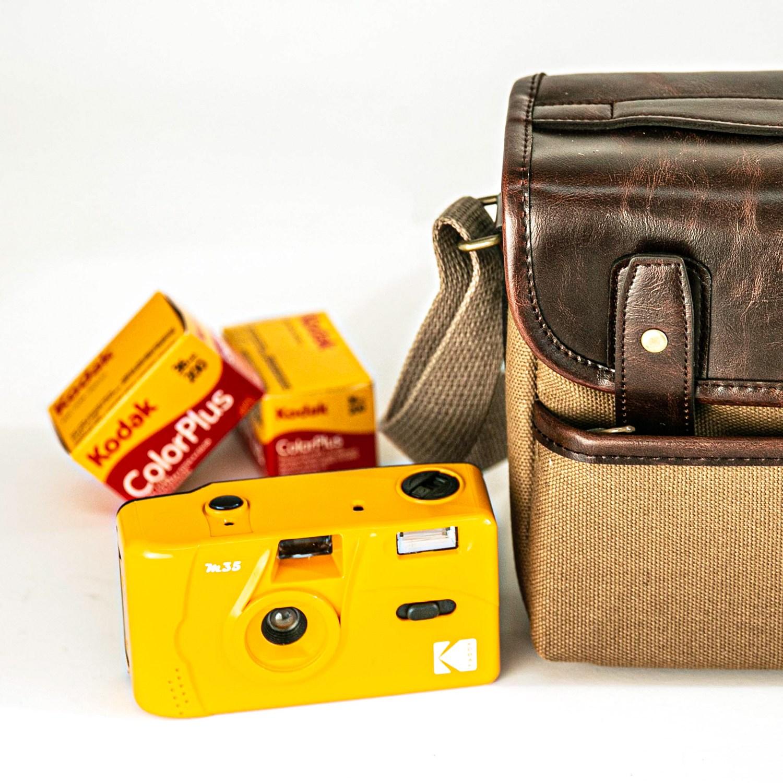 Kodak M35 코닥 필름 토이카메라 Yellow + 컬러플러스 필름 200-36, M35 Yellow + 컬러플러스 필름