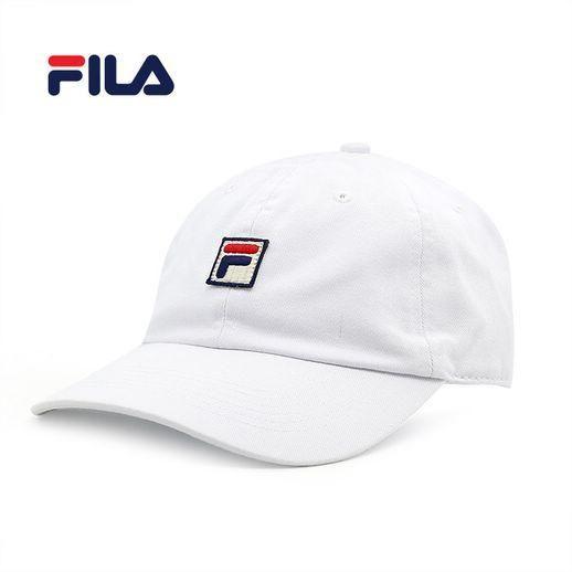 휠라 대드 햇 로고 캡모자 (WHITE-FF-HT03341)