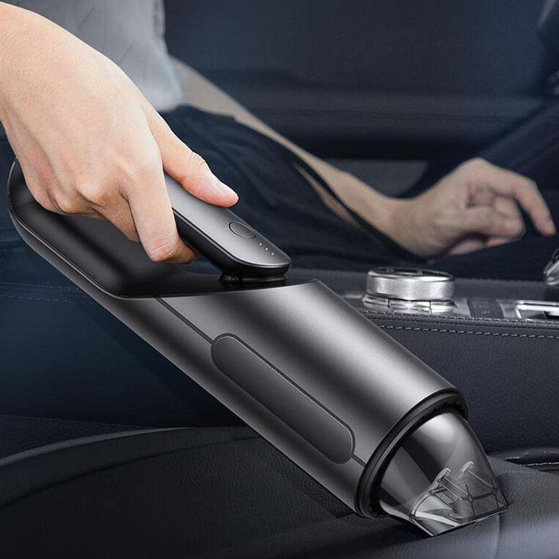 Leading 휴대용 미니 핸디 무선 청소기 통용 충전식 XD2306, 실버