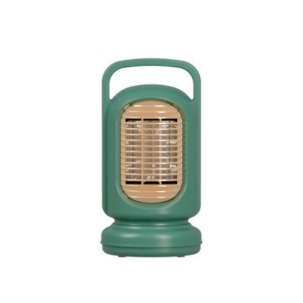 캠핑용 사무실용 공부방 미니온풍기 전기히터 700w 가벼운 온풍기, 그린, 기본