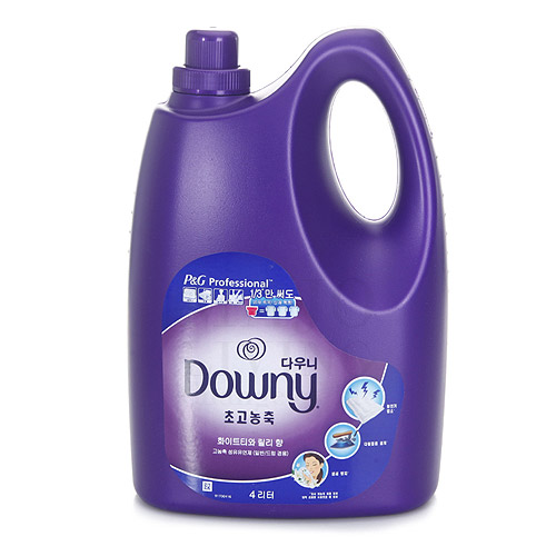 다우니 퍼플 4L 화이트티와 릴리향 고농축 섬유유연제, 1개