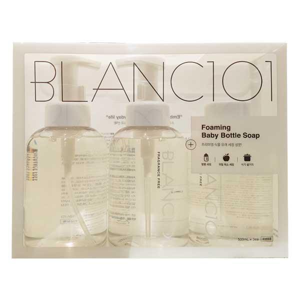 블랑101 포밍 젖병세정제(본품500ml x2입+리필500ml), 단일상품