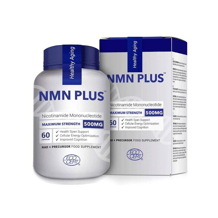 (당일발송) NMN 맥시멈스트랭스 부스트 NMN 60정/ NMN Max Strength NMN 500mg Naturally Boost NAD Levels 60Caps