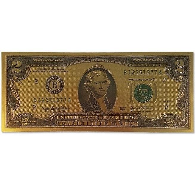 다솔 행운을부르는 돈 금박수표 금박5만 금박2달러