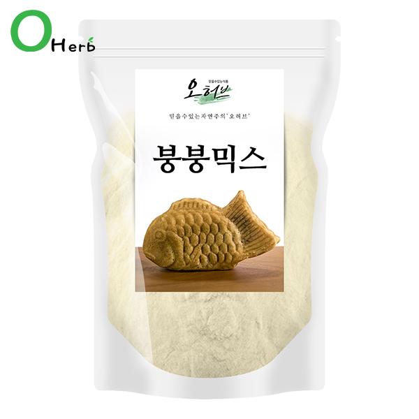 오허브 맛있는 붕어빵믹스, 1개, 1kg