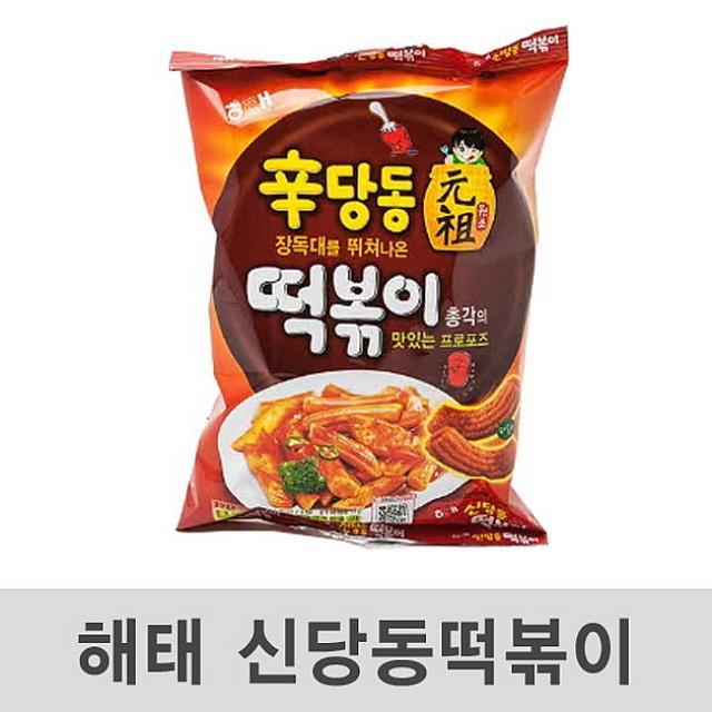 코코플러스 신당동 떡볶이 103g 24봉 스낵, 1