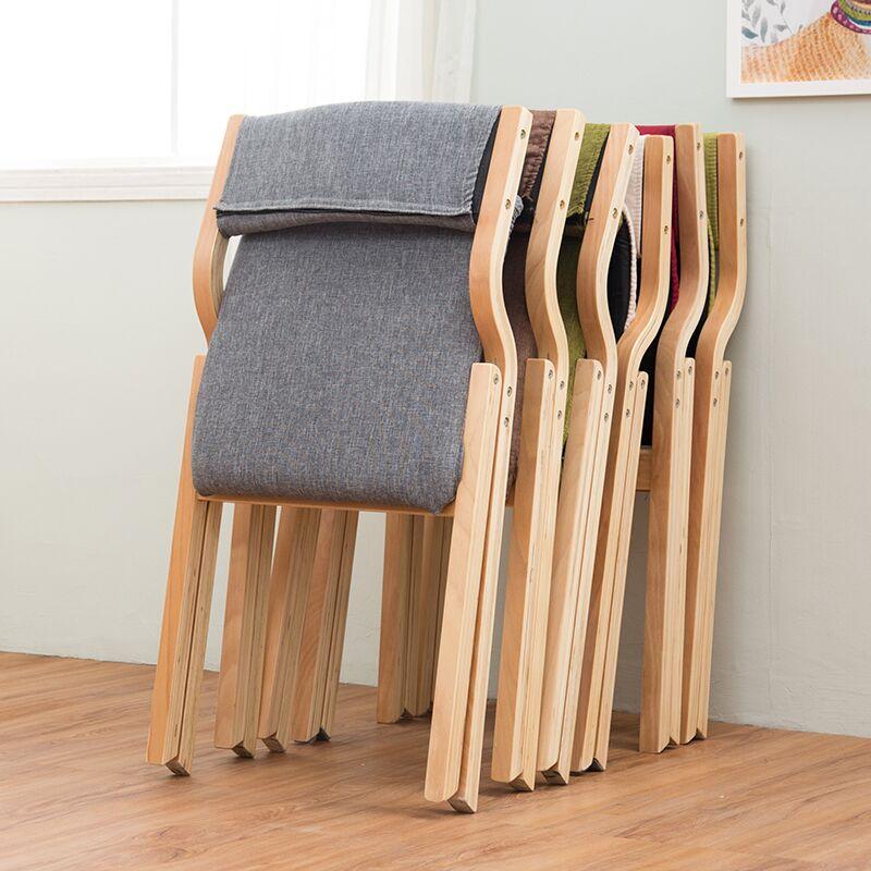 단단한 나무 접이식 의자 이동식 등받이 야외 레저 심플한 디자인 원목, 컬러 커스텀 촬영