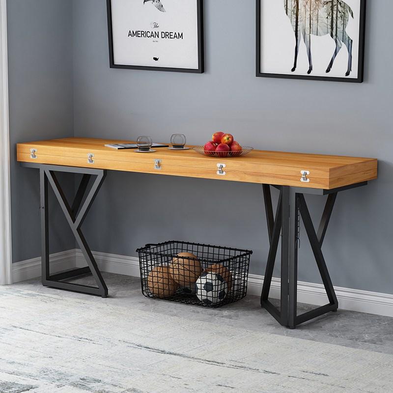 접이식 테이블 식탁 공간활용 접이식식탁 확장형, 100x60x75 두께 3cm
