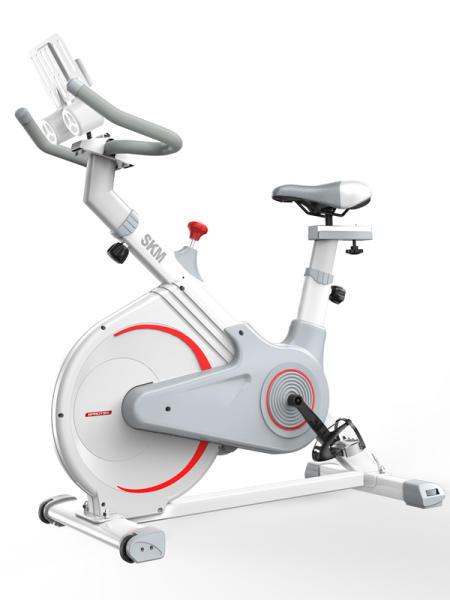 크리스 실내자전거 스핀바이크 입식사이클 무소음 스핀 머신 회전 여성 홈 운동 피트니스 자전거 액세서리 체육관, 표준 모델-검은 색 이동식 병 케이지 + 강화 벨트 /