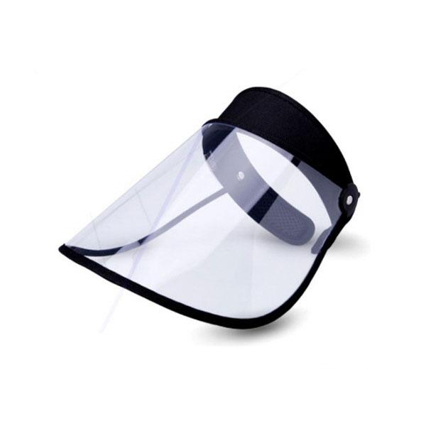 쿠웅 투명썬캡(검정) 자외선차단86.3%