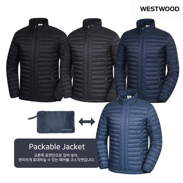 웨스트우드 남성 20년 67% 세일초경량 가을 간절기 입기 좋은 구스 경량 등산 패딩