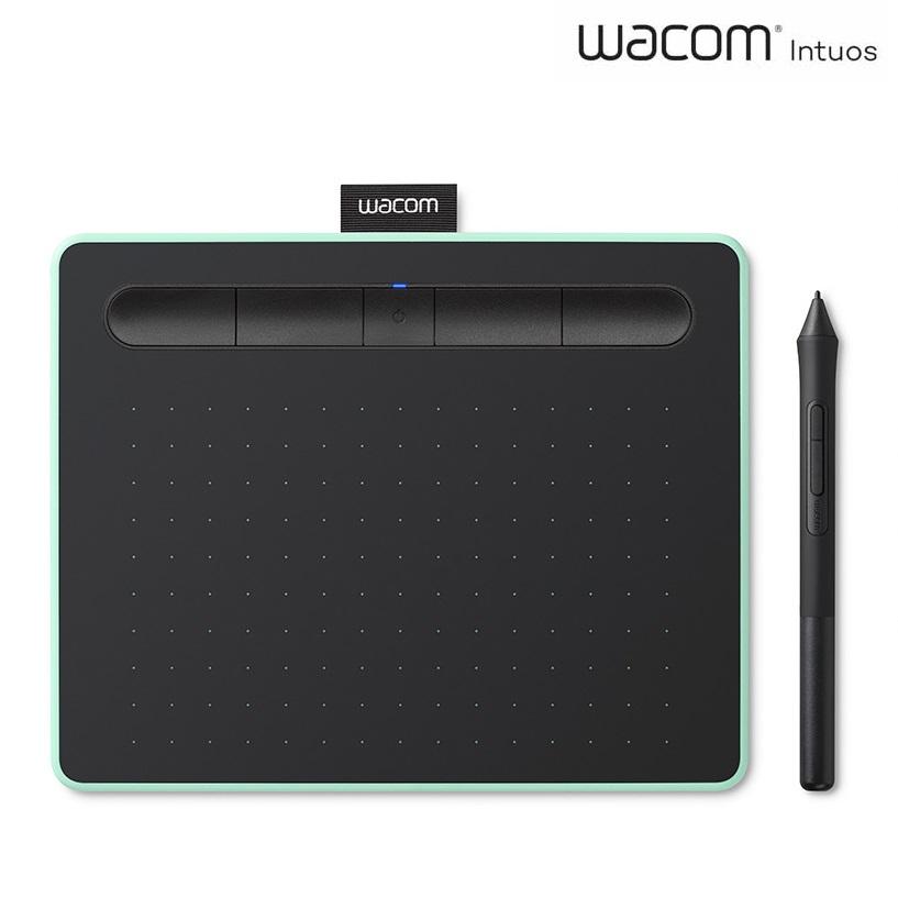 와콤 인튜어스 중형 블루투스 타블렛 CTL-6100WL, 피스타치오 그린