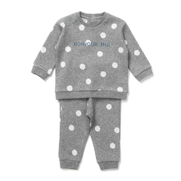 [현대백화점]밍크뮤 (MG)도트트레이닝SET (30A70-672-17) 임신축하 신생아 출산 백일 돌 유아 의류 선물 20