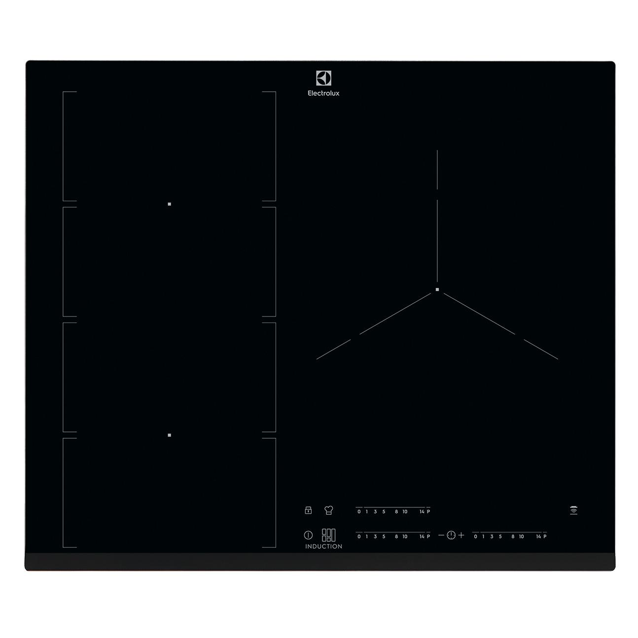 [일렉트로룩스 공식인증판매점]인덕션 플렉스브릿지 전기레인지 3구 EIV65344, 방문설치
