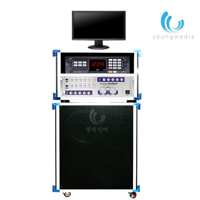 이동식 노래방 TJ노래방기계 노래방기기세트 노래방기기, 선택1 / TKR-355HK-유선마이크 세트