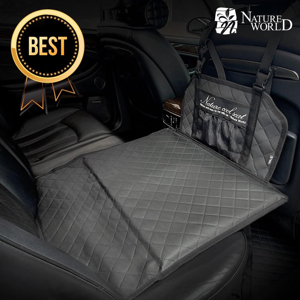 네이처월드 차량용 놀이방매트 차박 평탄화 안전 칸막이 자동차 뒷좌석매트 캠핑 카시트 애견, 싱글형
