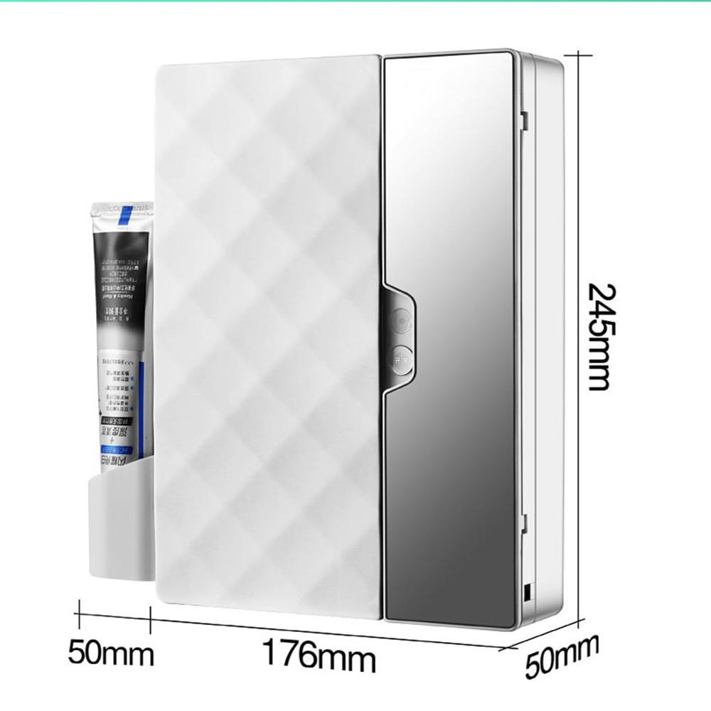 준스브로 욕실 자외선 무선 칫솔 면도기 살균기 15분 소독 USB전원, 화이트