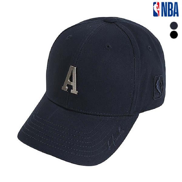 [현대백화점][NBA]엔비에이 N195AP454P 남여공용 금속장식 커브 캡 모자