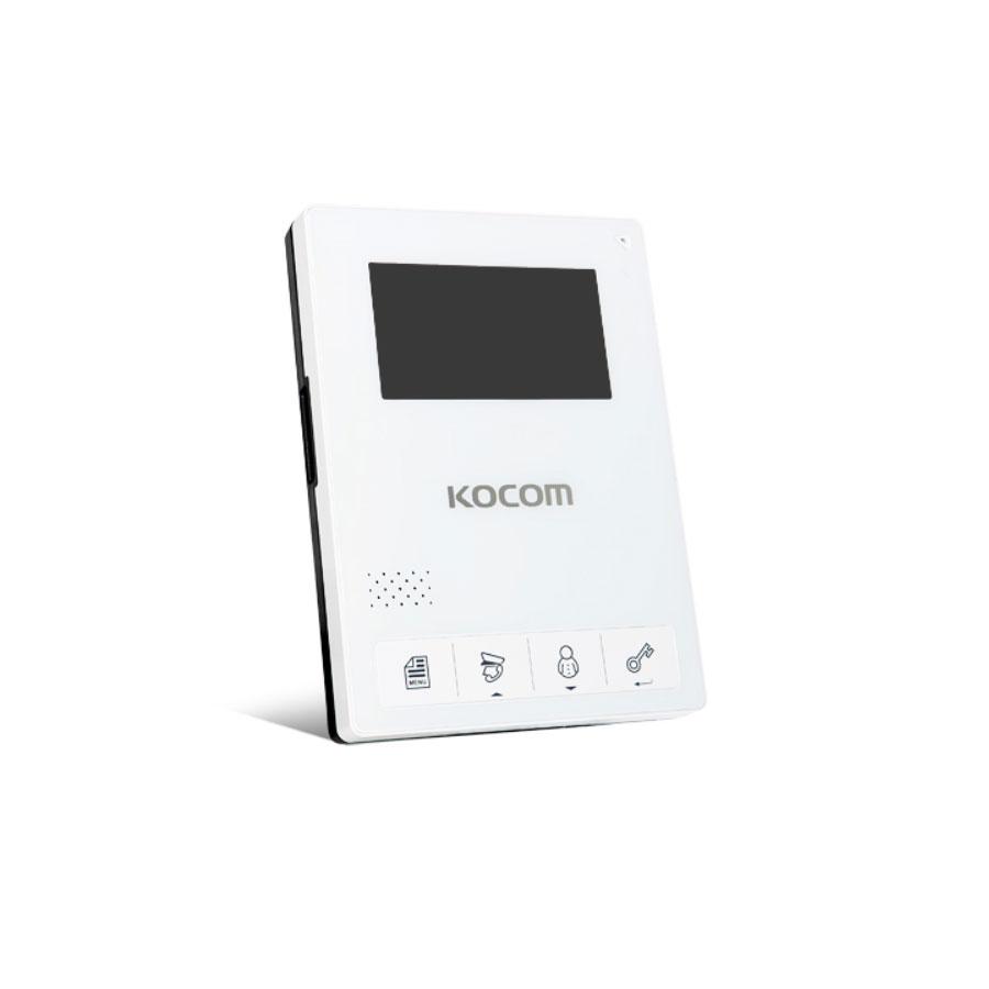 코콤 비디오폰 KCV-434 4선식 4.3in, KCV-434(화이트) 단품(카메라X)