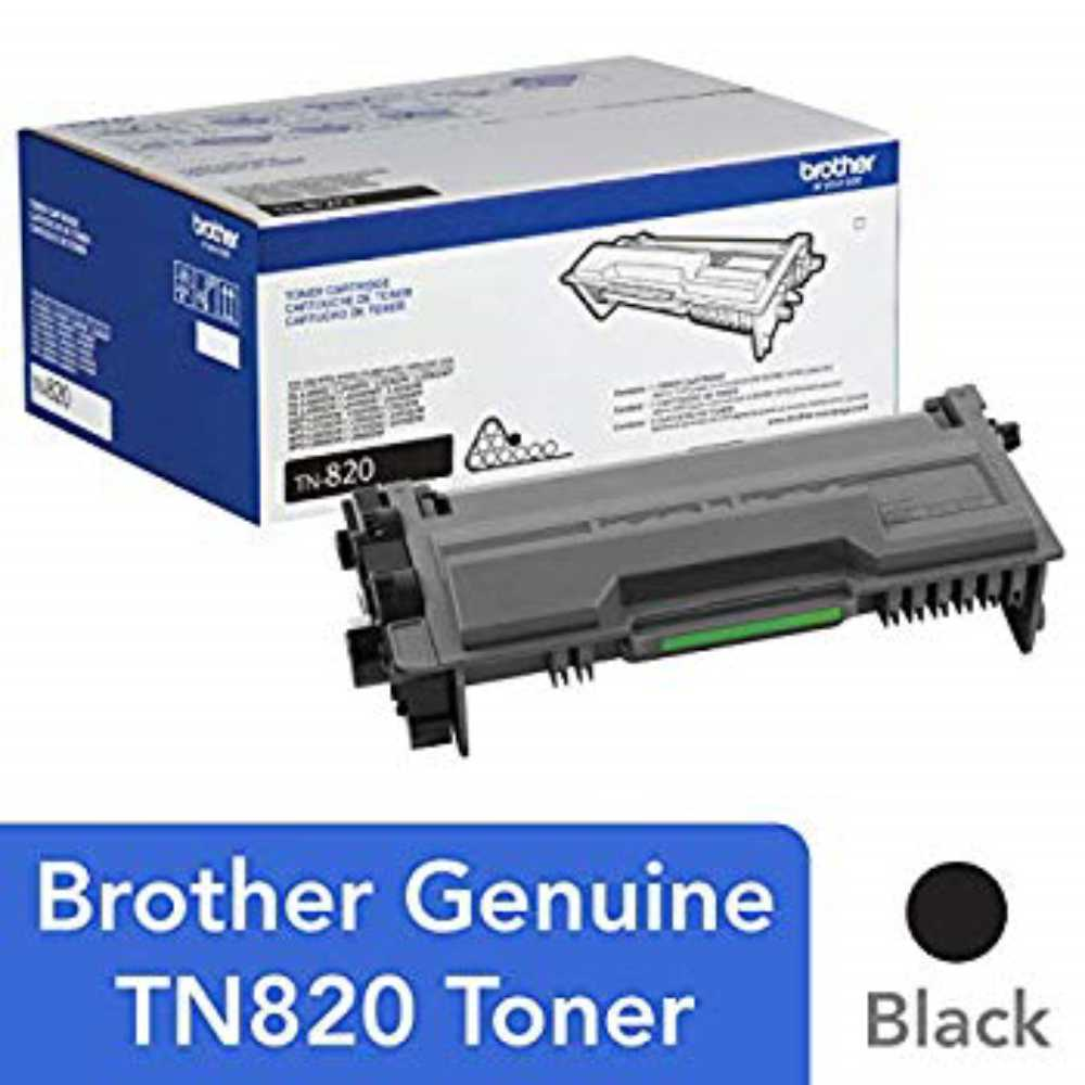 Brother Genuine Toner Cartridge TN820 Replacement Black Toner Page Yield Up To 3 000 Pages Amazon Dash Replenishment, 1, 단일상품