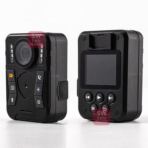 보안용 고화질바디캠 적외선야간촬영 방수 카메라, 단품