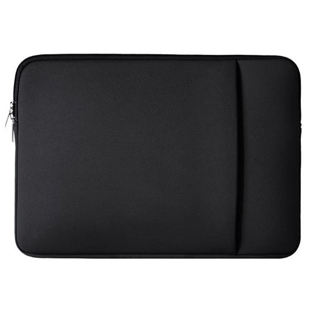 아이패드 프로 1 2 세대 12.9인치 수납 포켓 파우치, 블랙-11.6인치