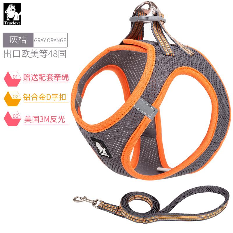 해외 트루로베 견인용 끈 소형 강아지 끈 체인 등줄 산책-172090, 옵션02