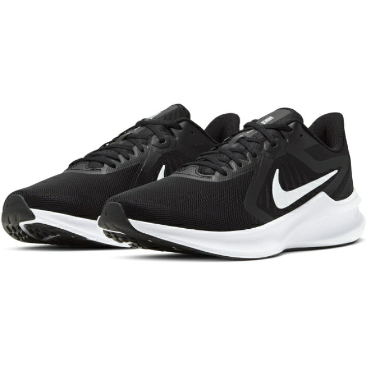 나이키 다운 쉬프터 10 DOWN SHITER CI9981 004 남자 육상 신발 : 블랙 × 화이트 NIKE