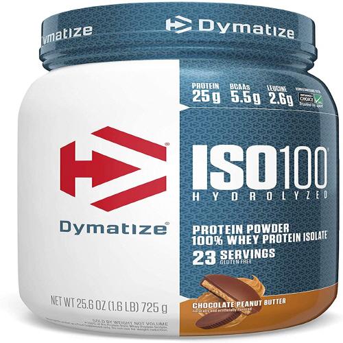 다이마타이즈 ISO100 하이드로라이즈드 프로틴 파우더 초콜릿 땅콩 버터 725g, 1개