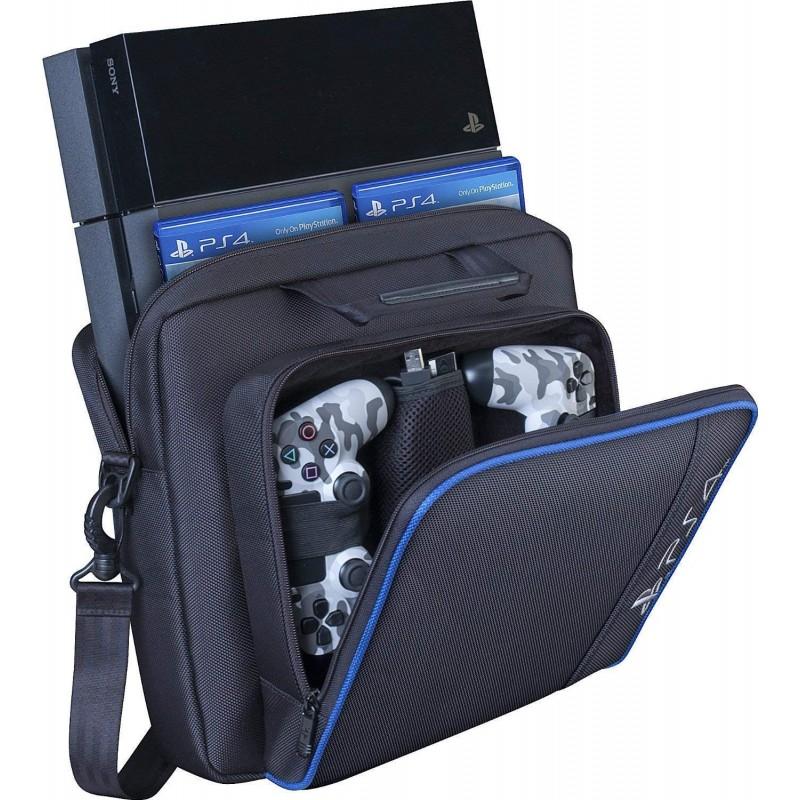 Barwa PS4 수납 가방 수납 가방 대용량 PS4 케이스 보호 케이스 수납 파우치 어깨 걸이 발수 가공 충격