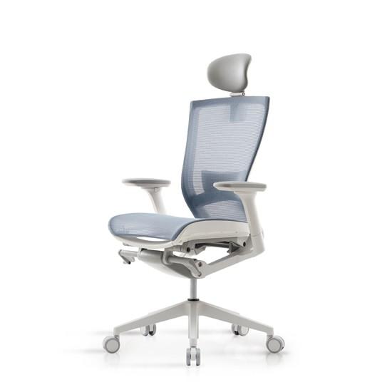 시디즈 T50 AIR 화이트쉘 의자(TN520HLDA/요추받침대유), 단일상품