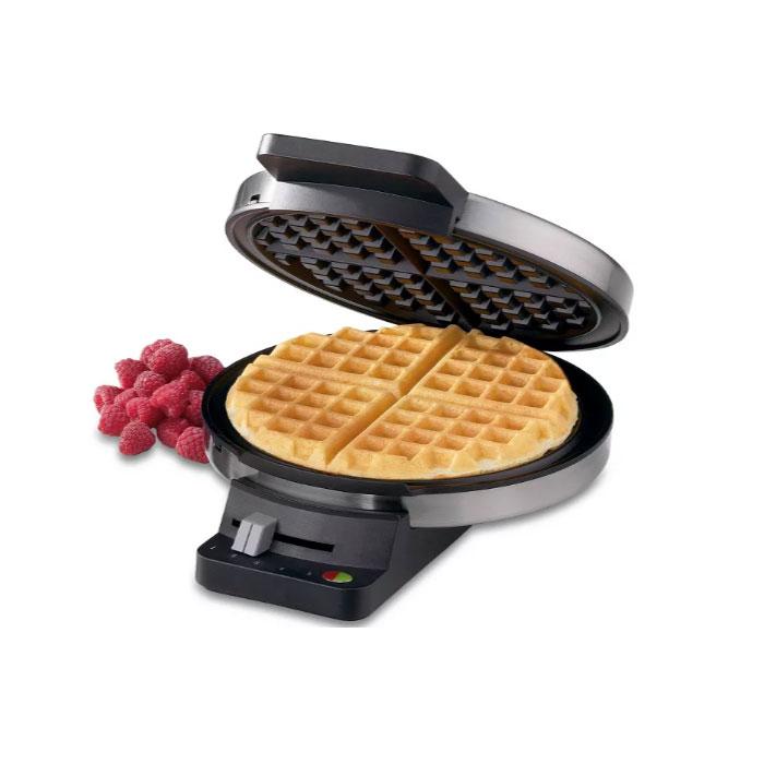 Cuisinart 쿠진아트 클래식 와플메이커 WMR-CATG Cuisinart Classic Waffle Maker - Stainless Steel, 단일상품