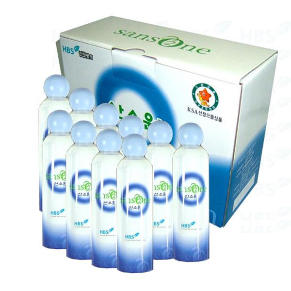 산소원 휴대용 산소공급기용 리필산소캔 10개 1박스 (산소원GB3/GB5용) (POP 5092711455)