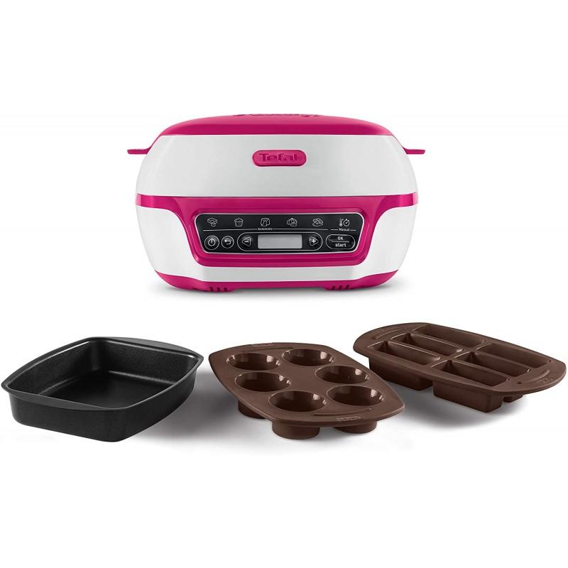 테팔 케이크 공장 KD8018 스마트 케이크 베이킹 기계 / 미니 오븐 (1200 W 머핀 초콜릿 용암 케이크, 단일상품