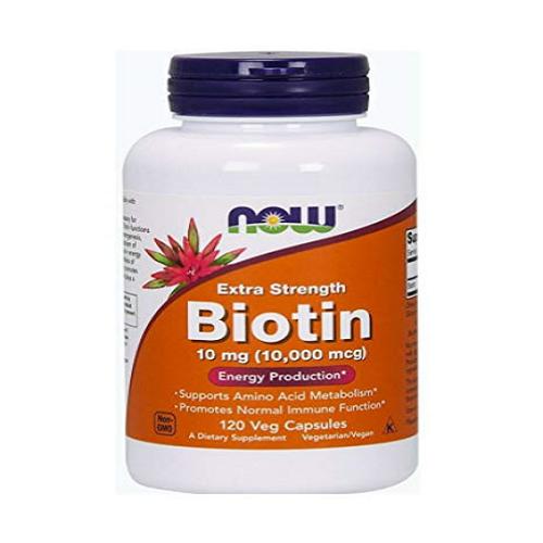나우푸드 비오틴 10000mcg 120정x3병 Biotin 0479, 3개