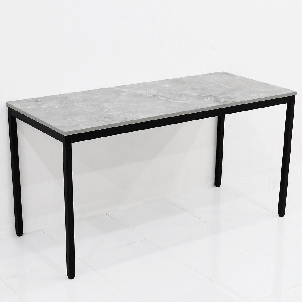 THEJOA 모던테이블 카페 테이블 업소용 입식 식탁 카페/업소용/식탁/컴퓨터책상, 1400 까르니코화이트