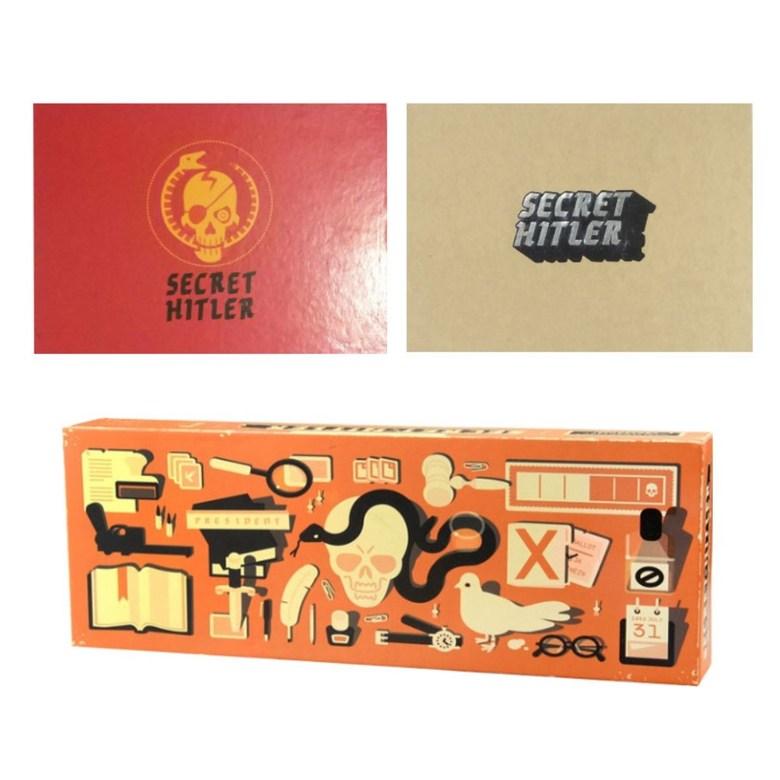 시크릿 히틀러 보드게임 마피아게임 추리게임 가족 친구 파티게임 Secret Hitler, 옐로+레드+롱 박스세트