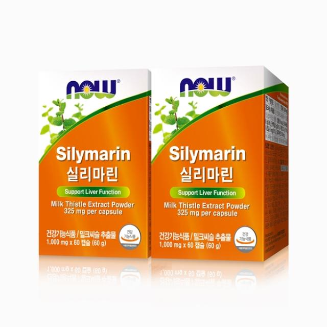 나우푸드 실리마린 60캡슐(60일분)*2박스