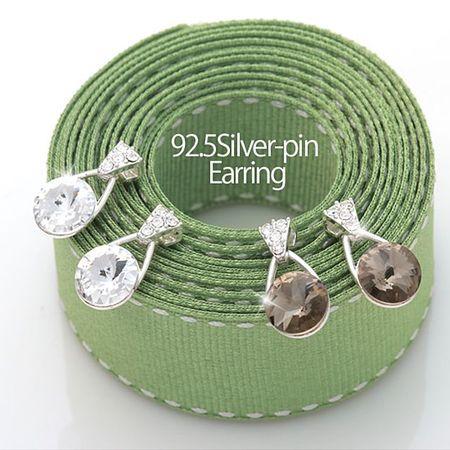 멸치쇼핑bf미엔느 925 Silver 은침 귀걸이 패션 귀걸이 연인선물