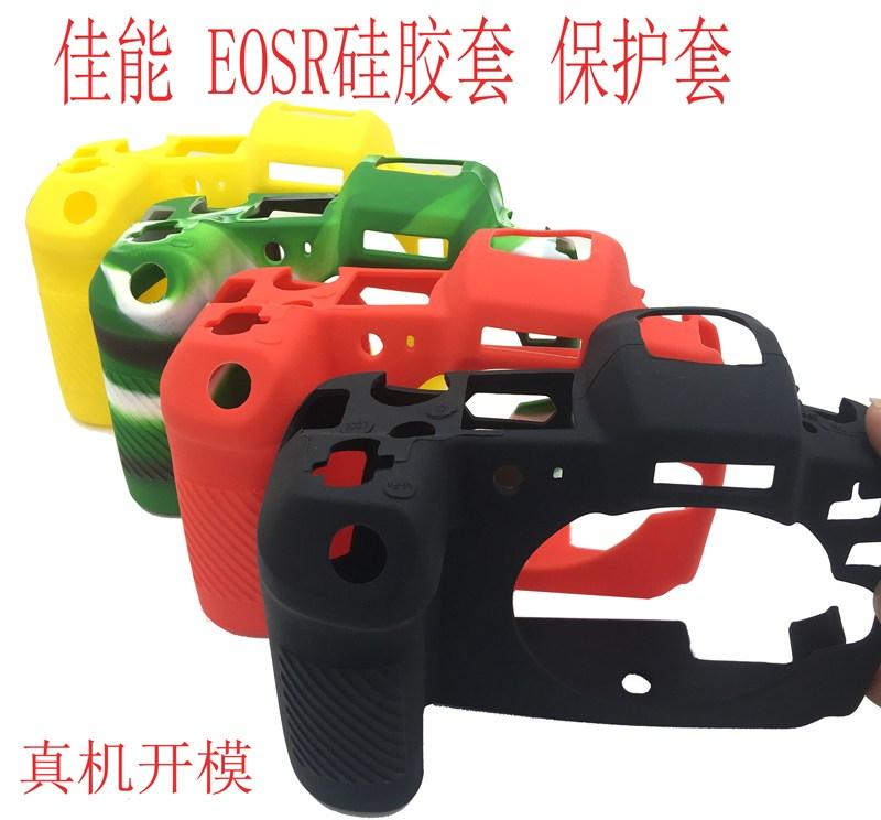 캐논 카메라 EOS-R R EOSR 전용 가방 실리콘 케이스 실리콘 고무 커버 촬영 보, 상세내용참조