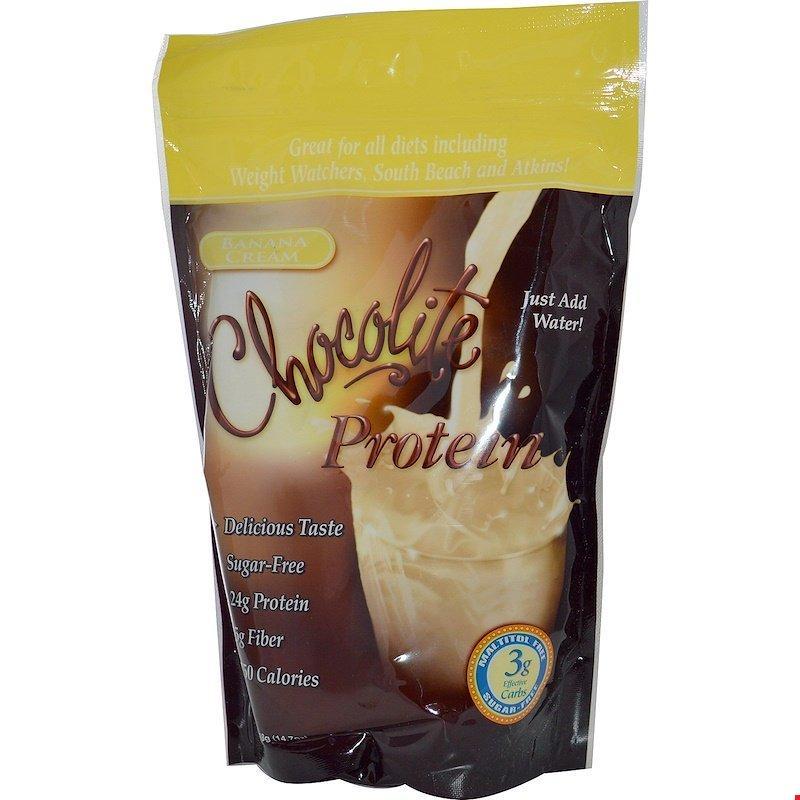 헬스 스마트 푸드 초코라이트 단백질 바나나 크림 14.7 oz (418 g), 단일상품