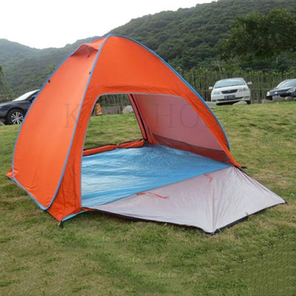 kirahosi 텐트 야외 2인 비치 해변 간이 2인용 캠핑 방비 어린이 선블록 프리 11호+ 덧신 증정 A6xf5uc, 로즈레드 라지BZ DMDTY, 1