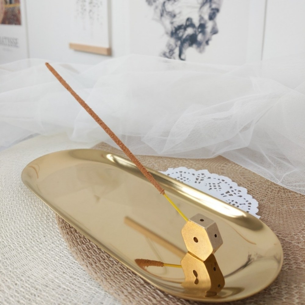 인센스 스틱 홀더 향 꽂이 받침대 인센스챔버 향피우기 5종, 01. 작은 물방울