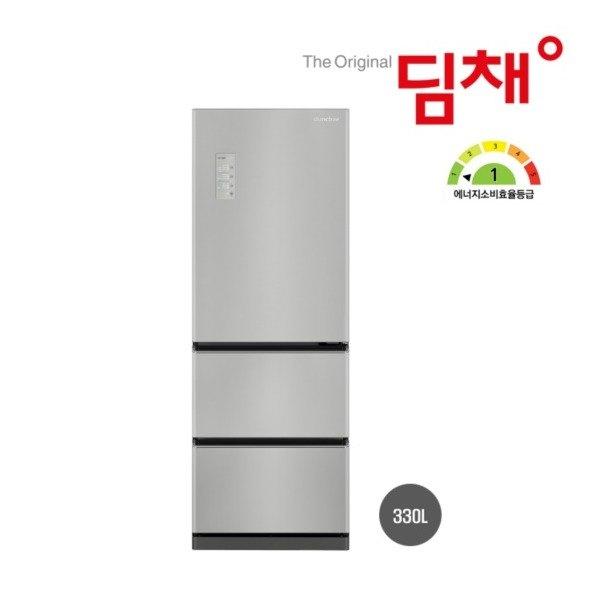 [딤채(가전)] ○[330L] 2021년형 위니아 딤채 스탠딩 3룸 김치냉장고 쿼츠(실버), 상세 설명 참조