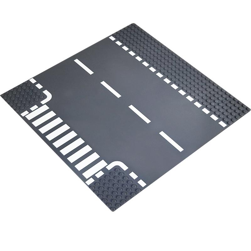 토이다락방 레고 클래식 도로판 32*32칸 (25.6*25.6cm) 레고호환블록, 레고도로판/T자형