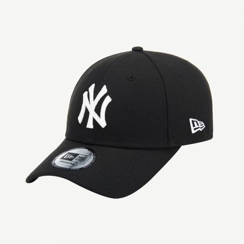 [엔터식스]뉴에라 MLB 뉴욕양키스 베이직 화이트 온 블랙 볼캡12098015