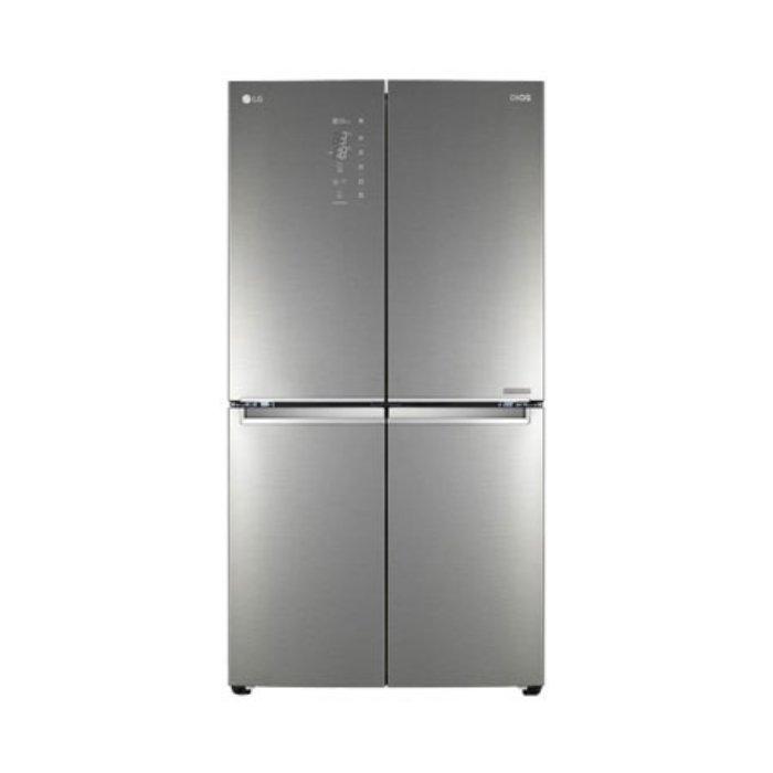 [8월 20일 이후 배송가능] LG전자 4도어 냉장고 F871SN55E 870L, 단일상품